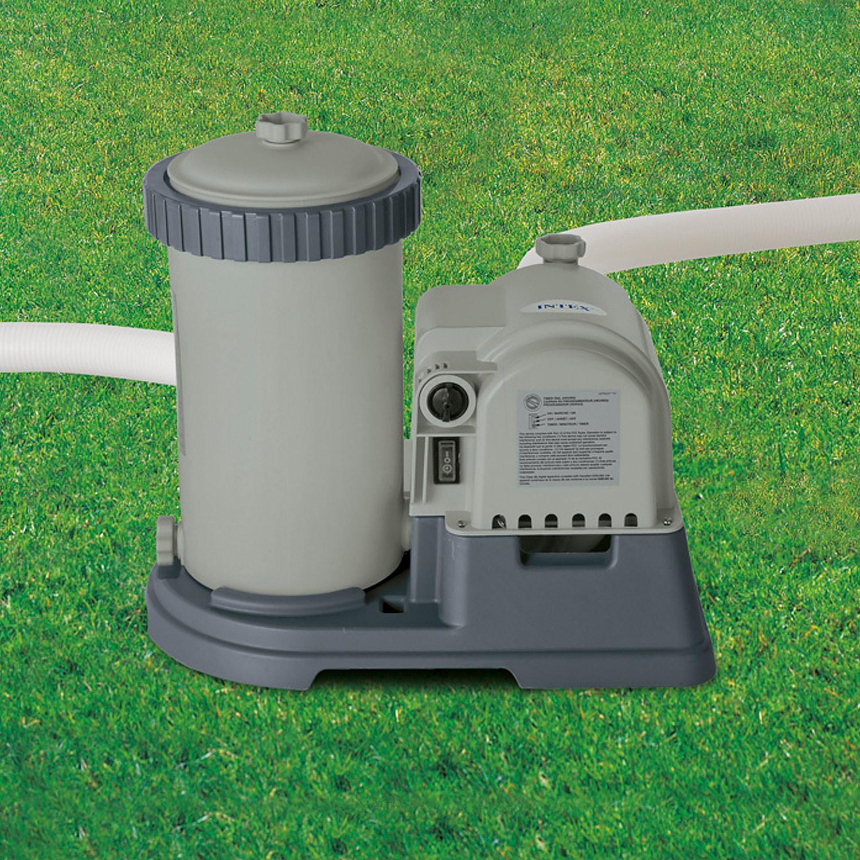 Intex Kartuschenfilteranlage OPTIMO 634T  - Pumpleistung 9.463 Liter/h