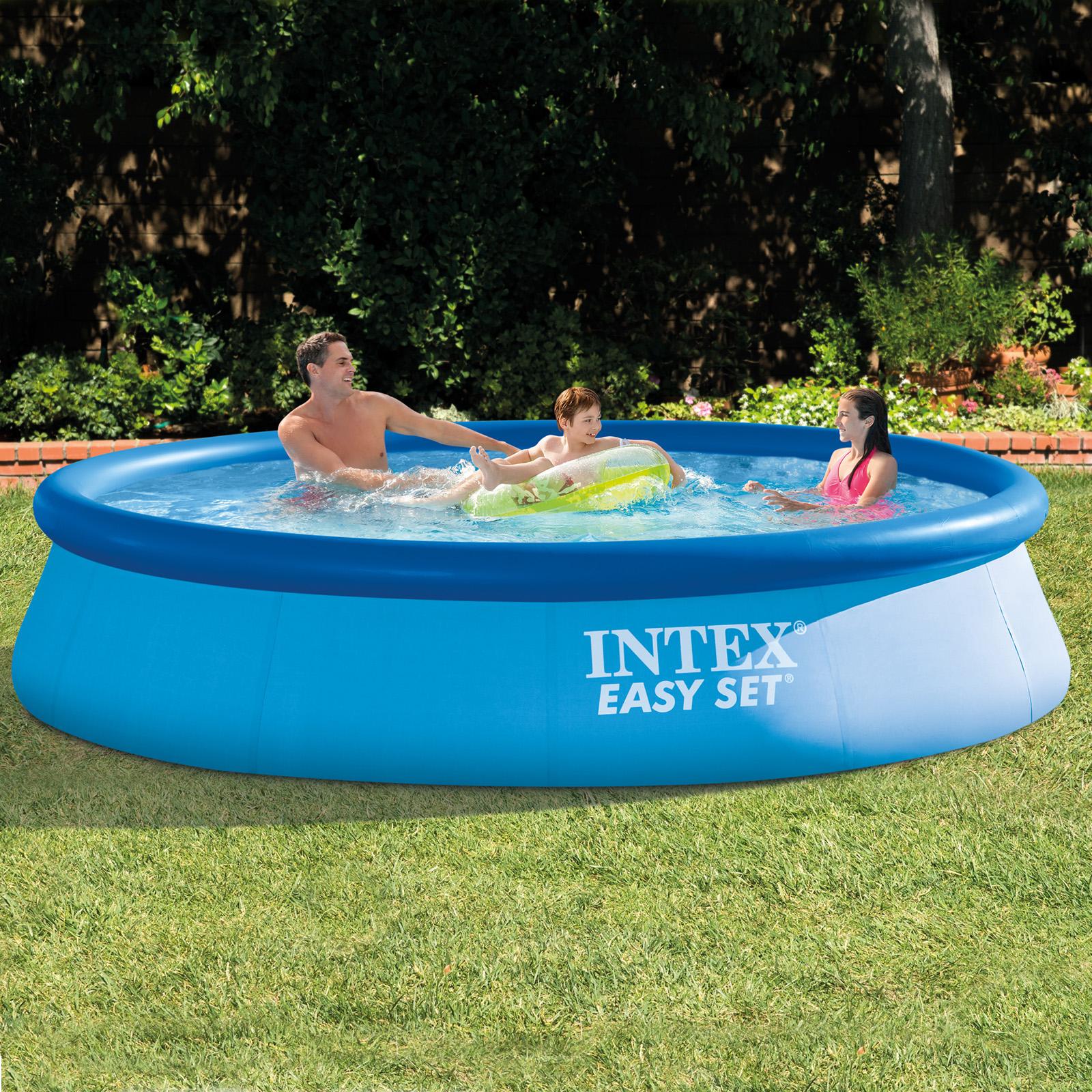 INTEX Swimming Pool 366x76cm Easy Schwimmbad Ersatzpool  28130