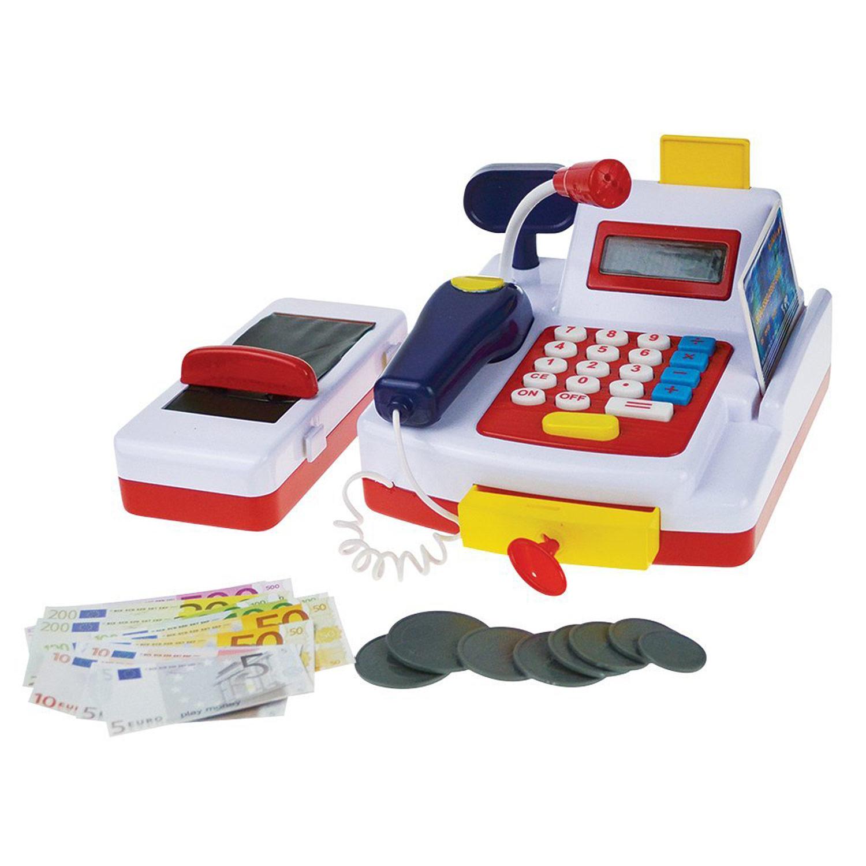 Happy People 45052 Haushaltsspielzeug Kasse mit Rechner-Funktion
