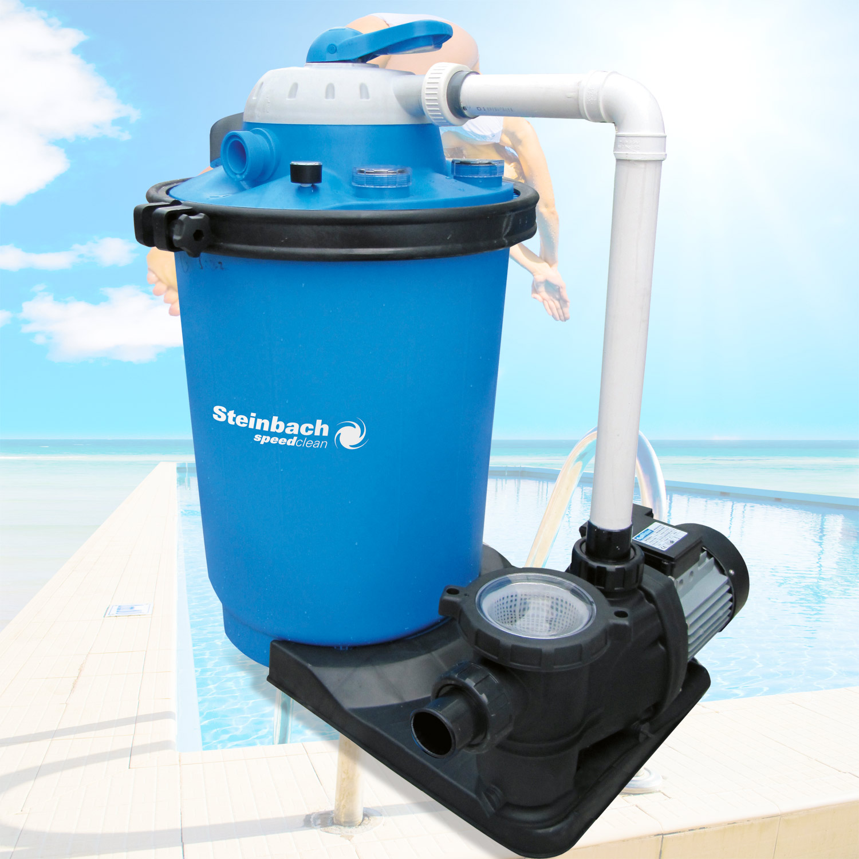 Steinbach Doppelstufenfilter Speed Clean Premium 100 , Filtermedium: Sand und Filter Balls