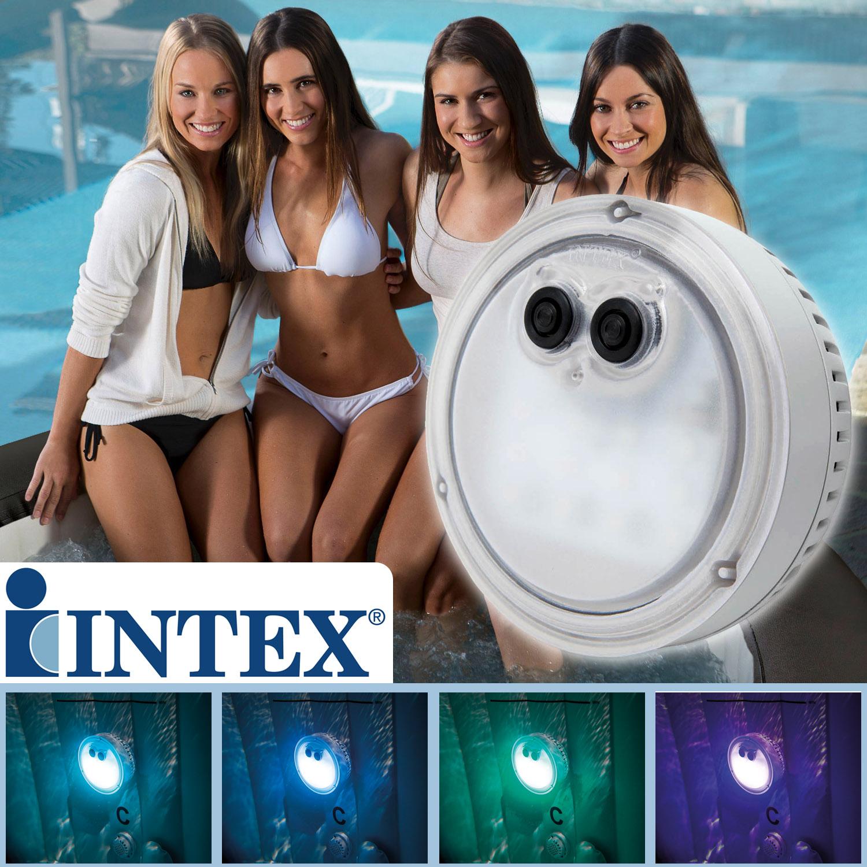 Intex LED Beleuchtung PureSpa Bubble