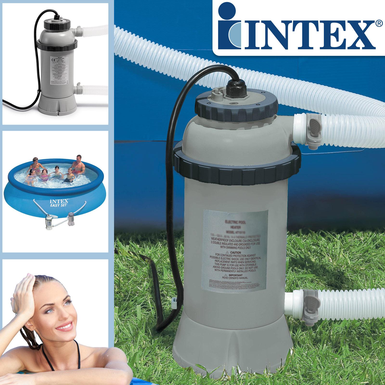 Intex Poolheizung Wärmetauscher Schwimmbad Heizung für Pool Nr.28684