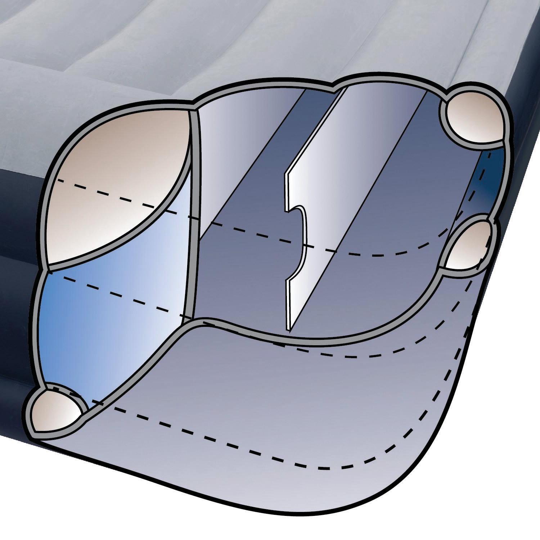 Intex Luftbett 191 x 99 x 43 cm mit integrierter Pumpe Gästebett