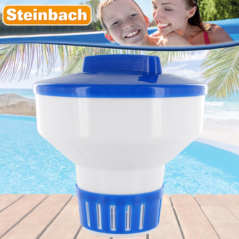 Steinbach Dosierschwimmer Maxi für 200 g Tabletten Chlordosierer Poolschwimmer