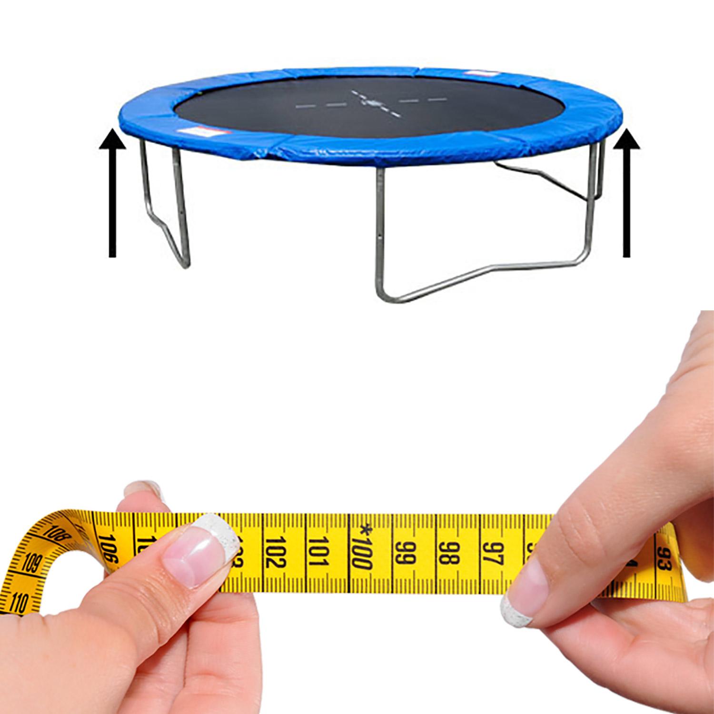 Miganeo® Federabdeckung Randabdeckung für Trampolin 396 cm
