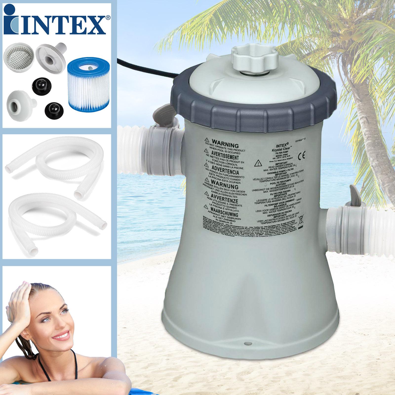 Intex Kartuschenfilteranlage Typ ECO 1250  - Pumpleistung 1250 Liter/h