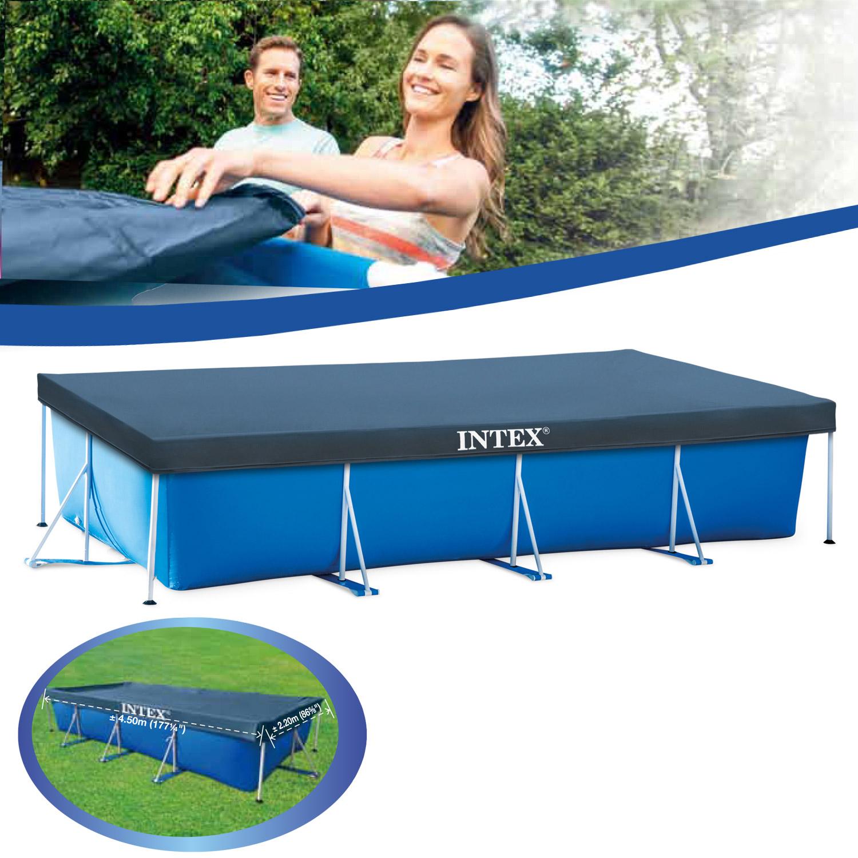 Intex Abdeckplane Frame-Pool Family 450 x 220 cm