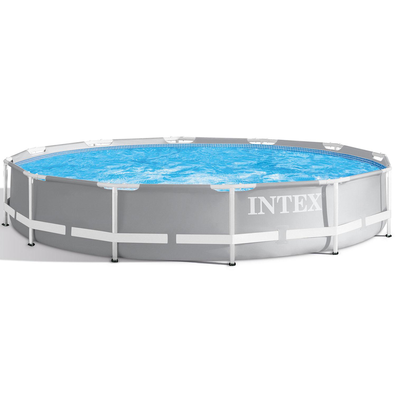 Intex Prism Frame Pool Rondo Ø 366x76 cm