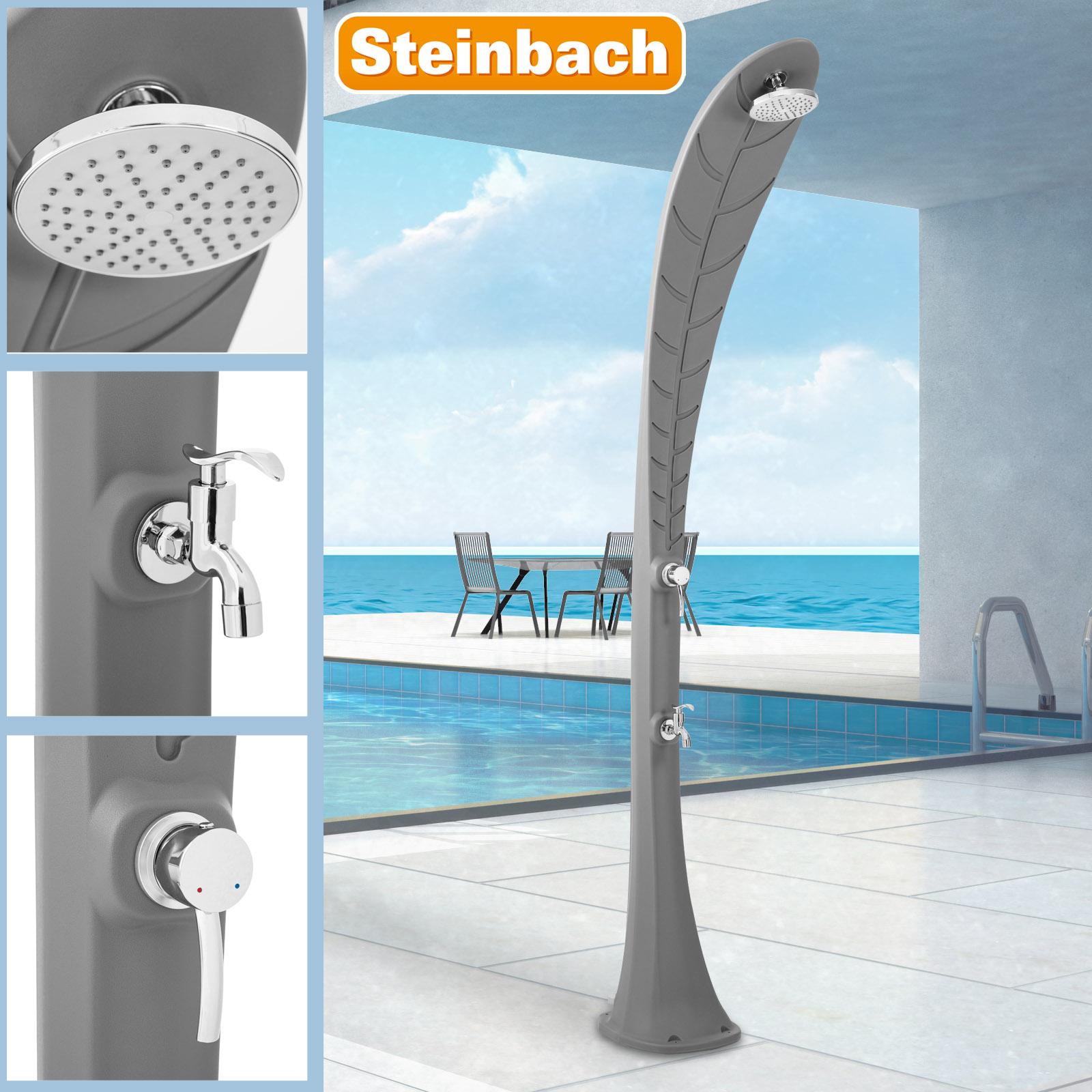 Steinbach Solardusche Leaf grau 49056