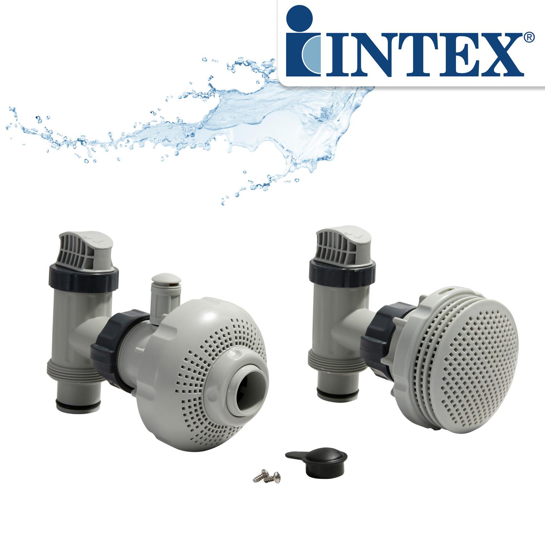 Intex Anschluss-Set Ø 38 mm für Pumpen von 4 bis 7,3m³/h
