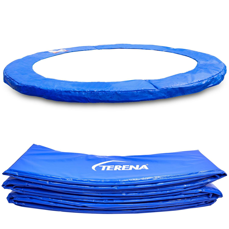 Terena® Federabdeckung 244 cm Randabdeckung für Trampolin blau