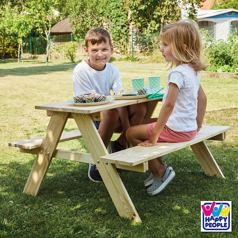 Happy People Kindersitzgruppe aus Holz ca.89x79x49 cm