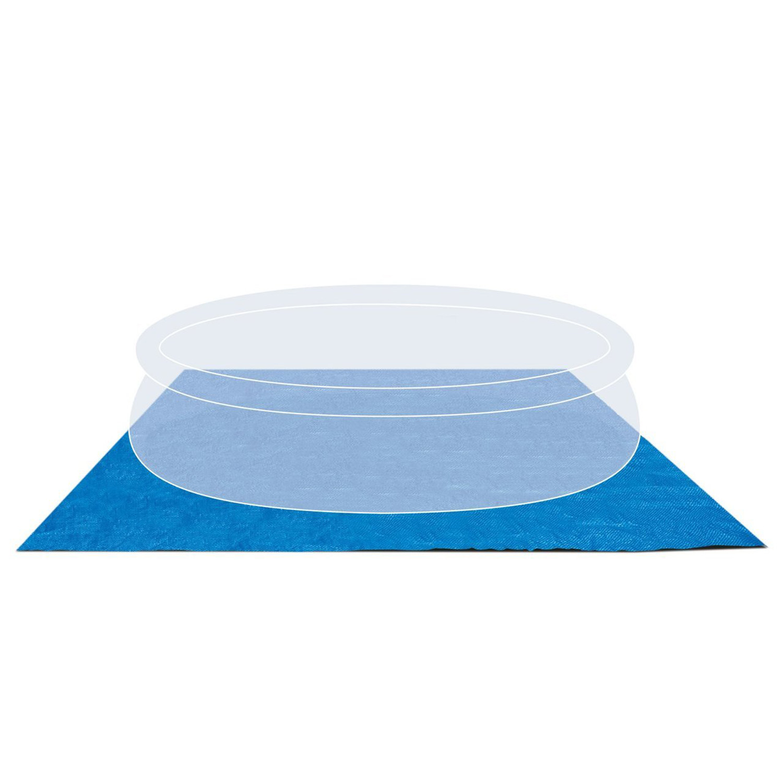 Intex 472x472 cm Bodenschutzplane für Pool und Schwimmbad