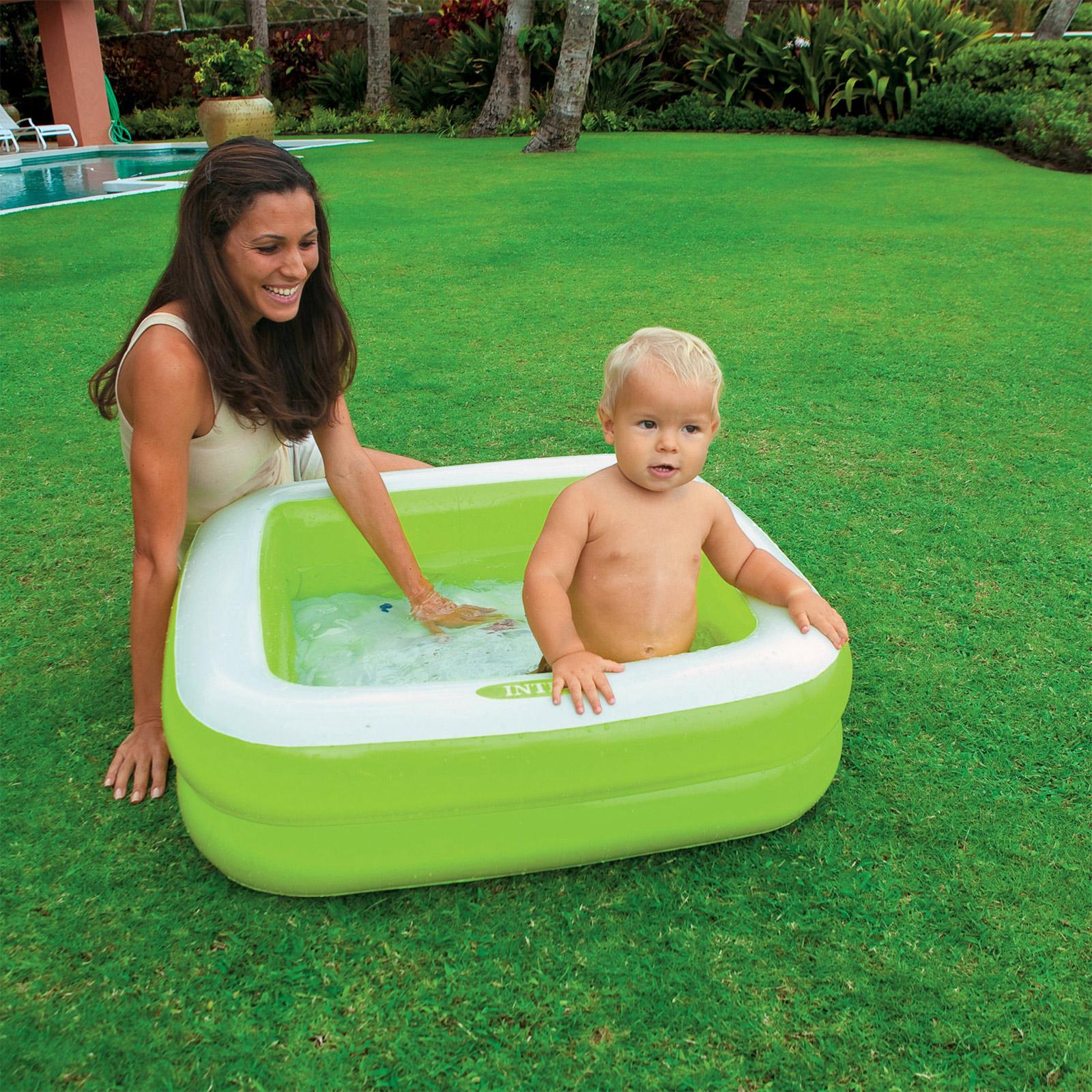 Intex Planschbecken Pool Babypool  85x85x23cm 57100