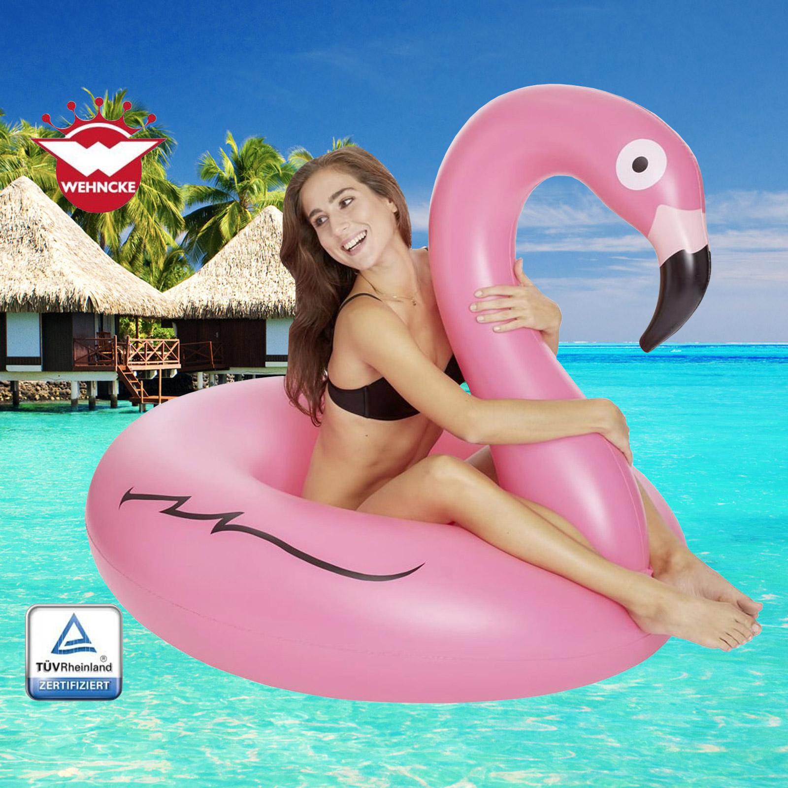 Wehncke Badetier Flamingo Schwimmtier Reittier Pool 77807
