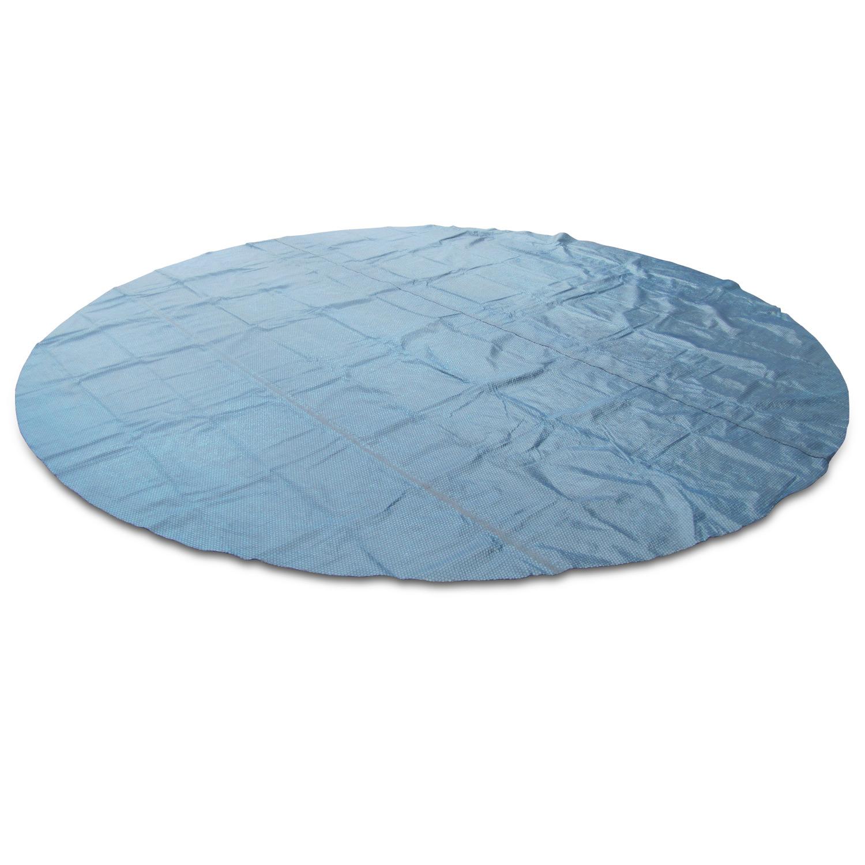 Miganeo® Pool Solarplane 500 schwarz/blau
