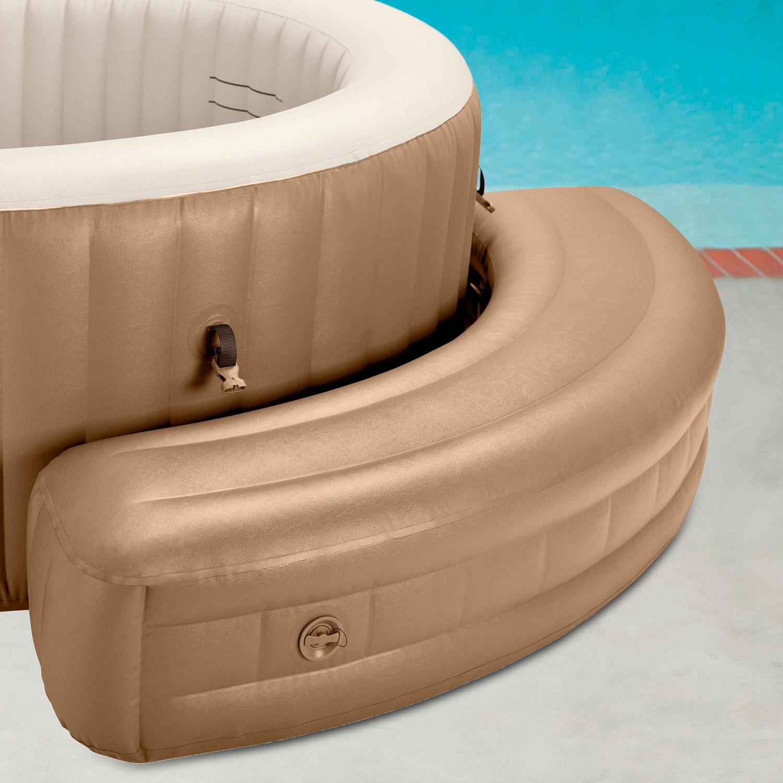 Aufblasbare Sitzbank für Pure Spa, hellbraun
