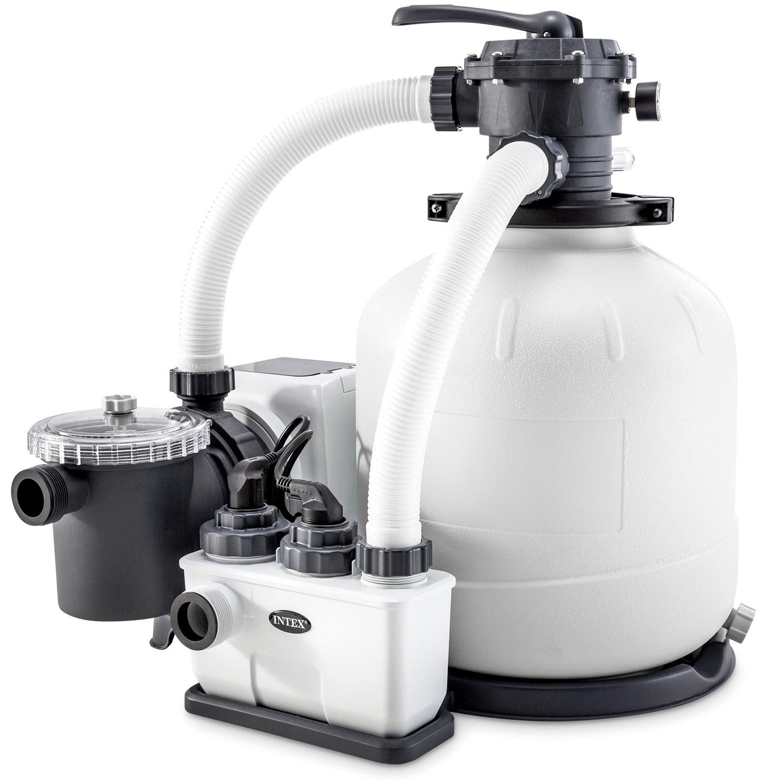 Intex Krystal Clear Sandfilteranlage® & Salzwassersystem ECO 10.000l/h