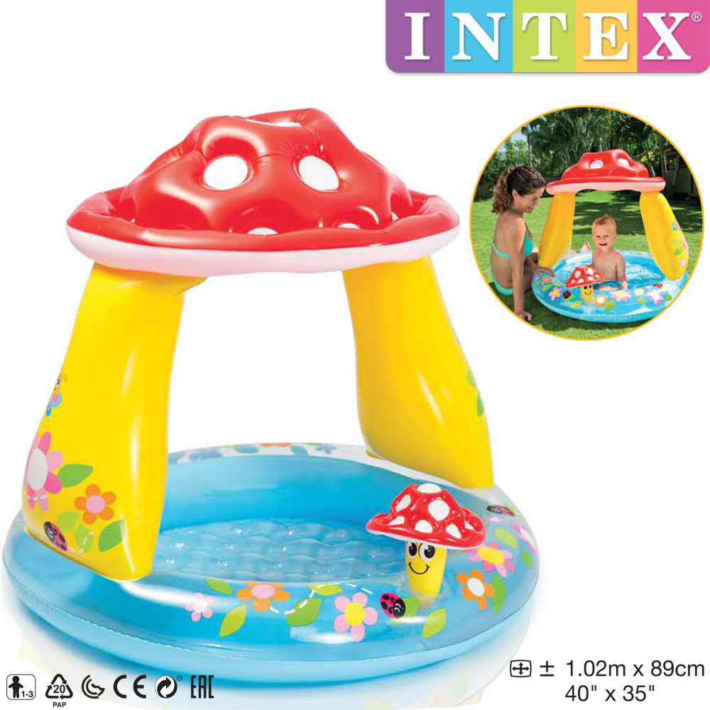 Intex Mushroom Baby Pool Ø 102 x 89 cm
