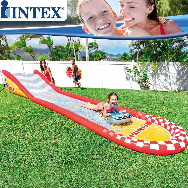 Intex 57167 Racing Fun - Wasserrutsche