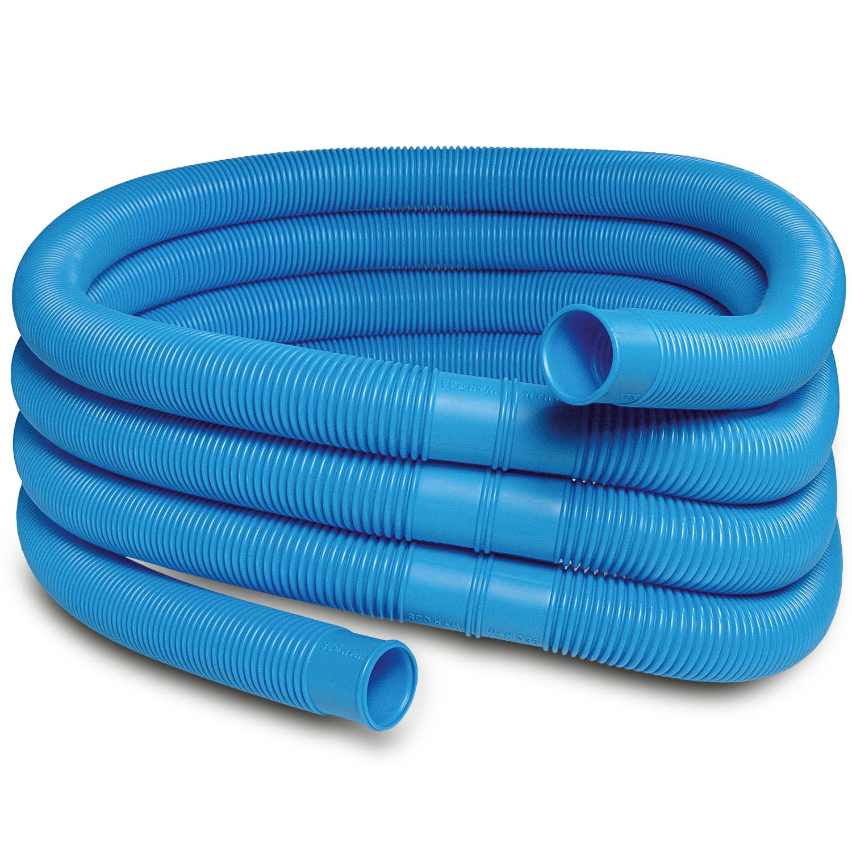 Schlauch für Pool Schwimmbad Zubehör 1,5 Meter - Ø 38 mm - blau