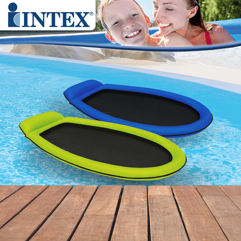 Intex Matratze 58836 178x94cm Luftmatratze Pool Lounge Badeinsel Liege