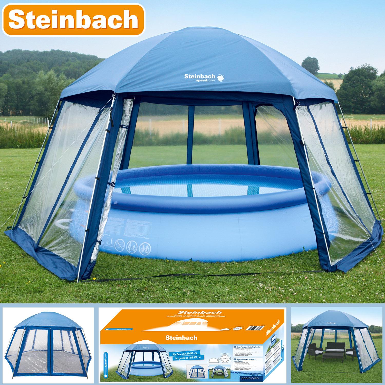 Pooldach für Aufstellpools und Sitzgruppen 600 x 520 x 280 cm