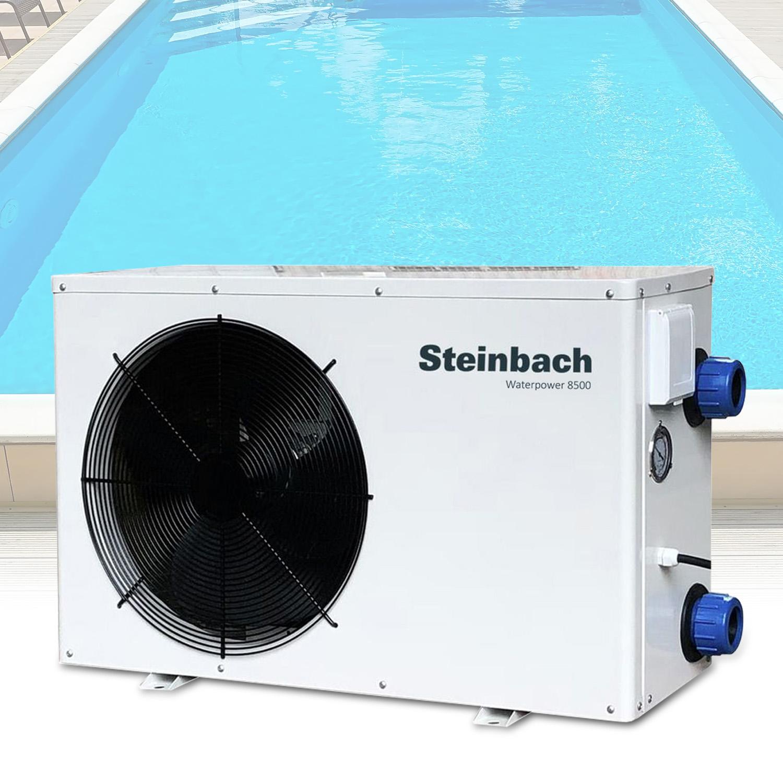 Schwimmbad Luft-Wärmepumpe 8,5 KW Waterpower 8500 49207