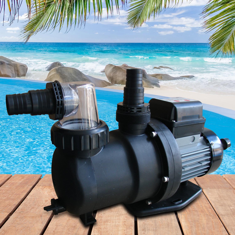 Ersatzpumpe für Sandfilteranlage - 550 W - 9,5m³ - ohne Zeitschaltuhr