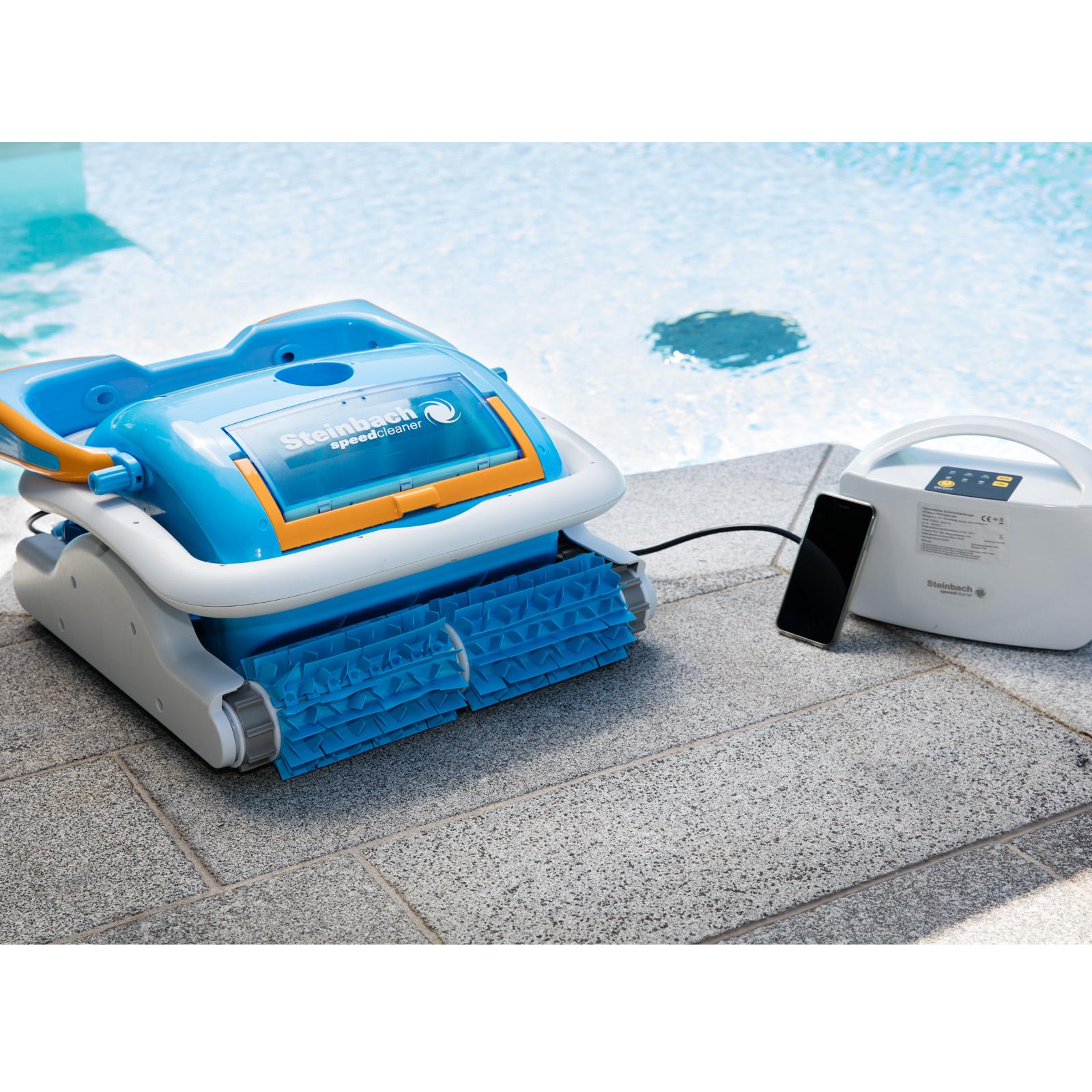Schwimmbadreiniger Speedcleaner APPcontrol für Boden und Wände - vollautomatisch