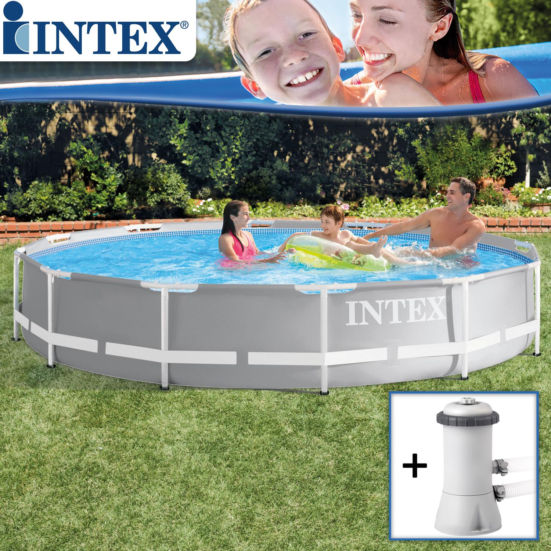 Intex Frame Pool Set Prism Rondo Ø 366 x 76 cm
