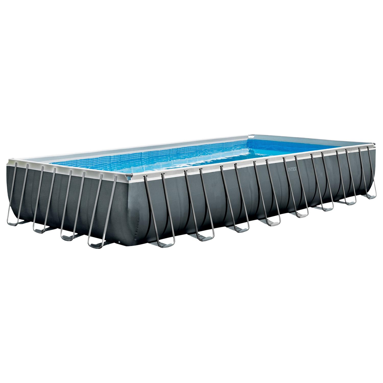 Intex Swimming Pool 975x488x132 cm Frame Pool Set Ultra Quadra XTR
