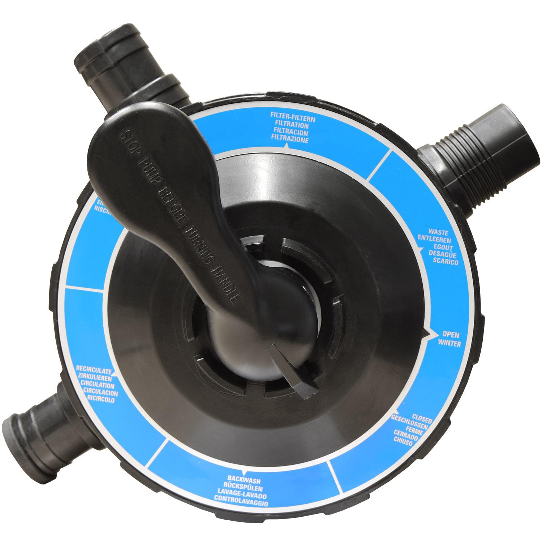 Miganeo® Sandfilteranlage Dynamic 6500 Pumpleistung  4,5m³ blau