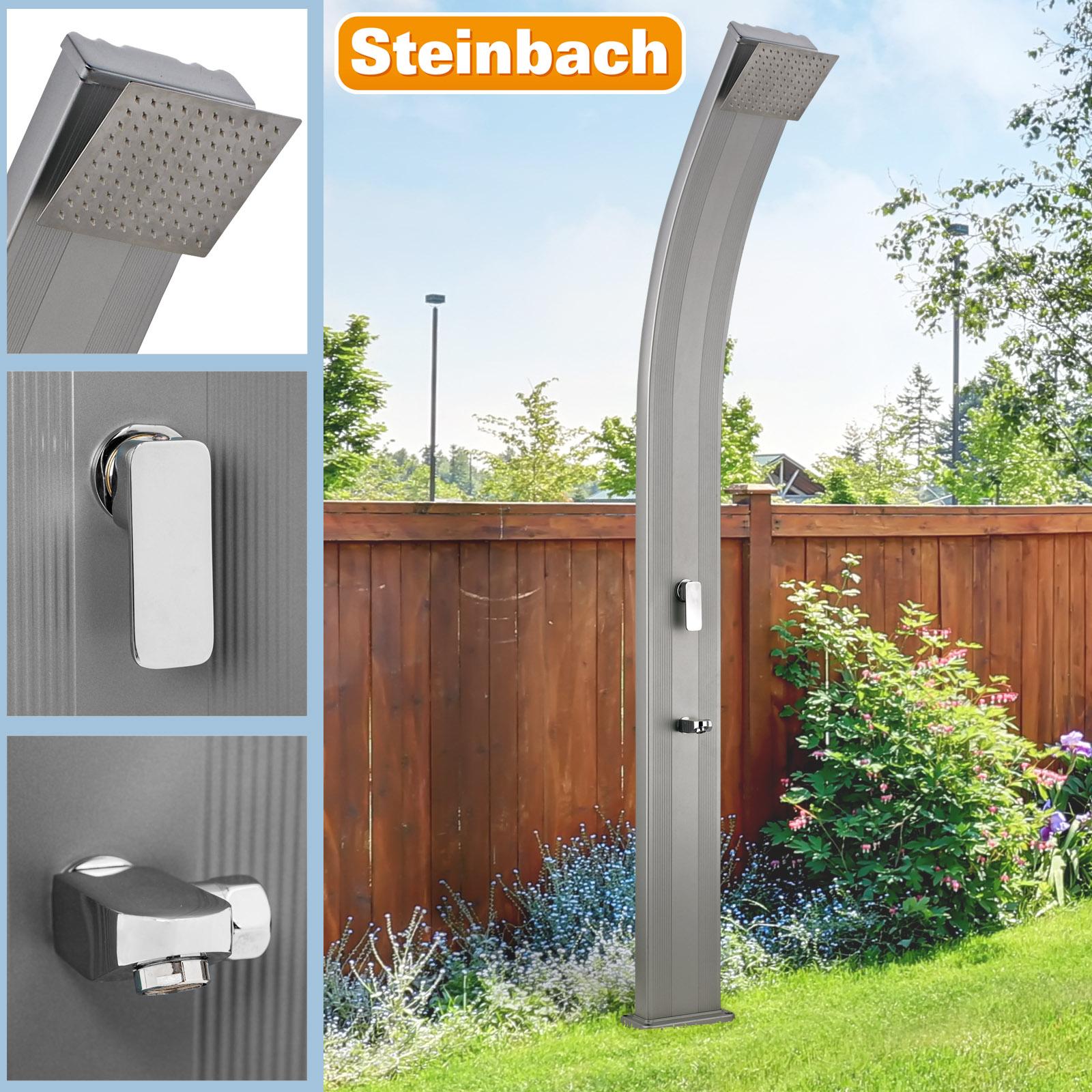 Steinbach Solardusche Slim Line Deluxe grau 49046