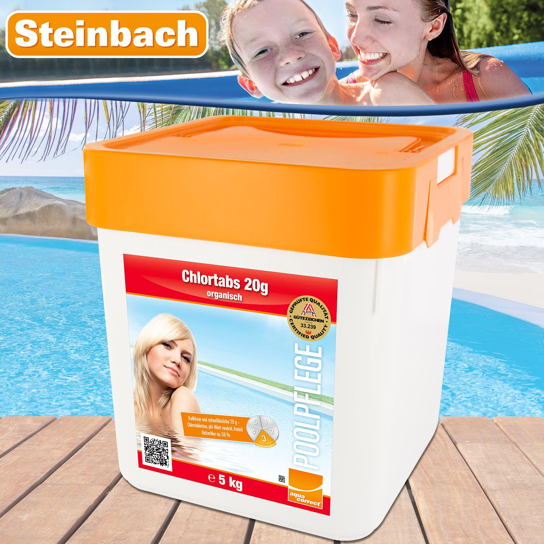 Steinbach Chlortabs 20g organisch, 5 kg schnellöslich