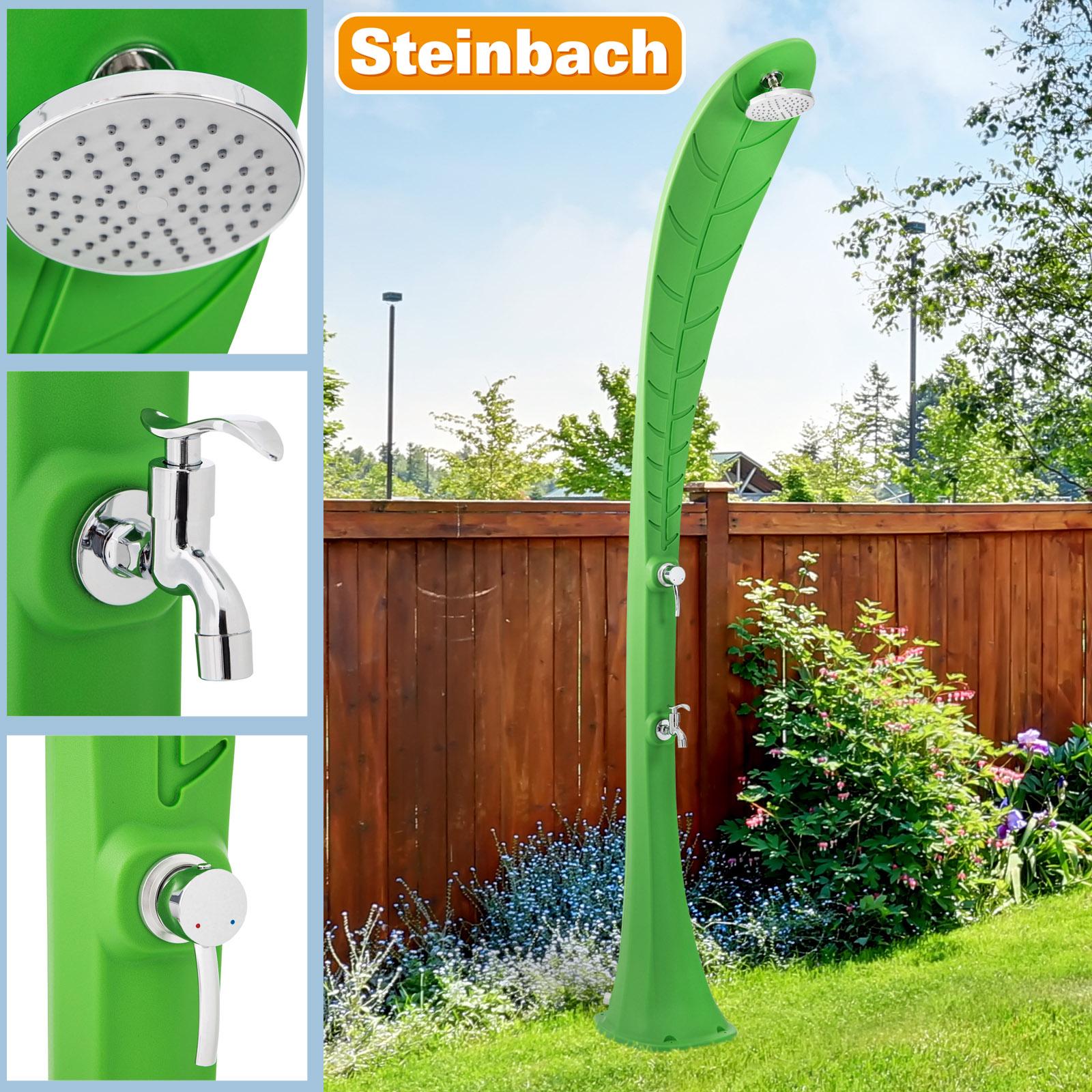 Steinbach Solardusche Leaf grün 49055