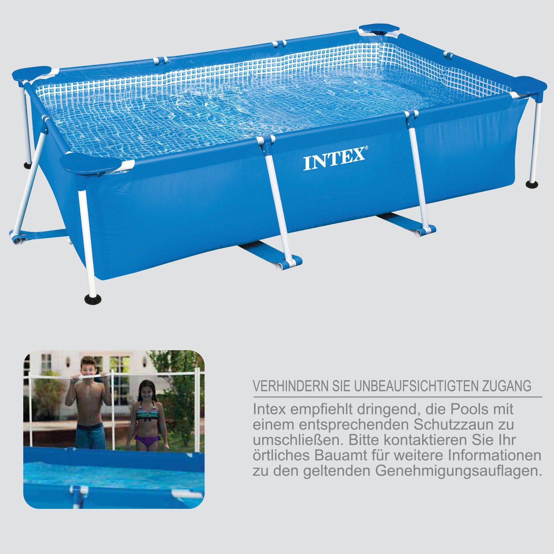 Intex Frame Pool Family 450x220x84 cm