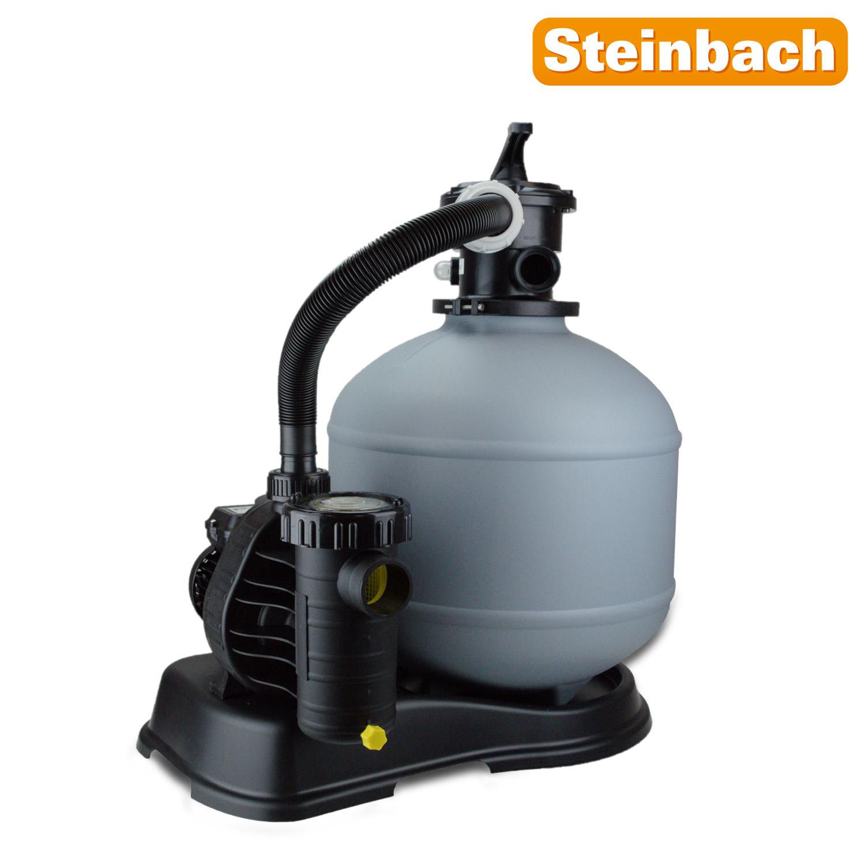 Steinbach Sandfilteranlage 9m³ Compact 8 Pool Pumpe Filterpumpe Filter