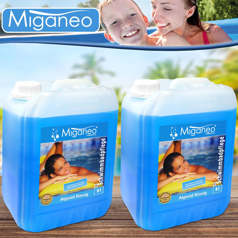 Miganeo 10l  Algezid zur Algenvernichtung für Pool