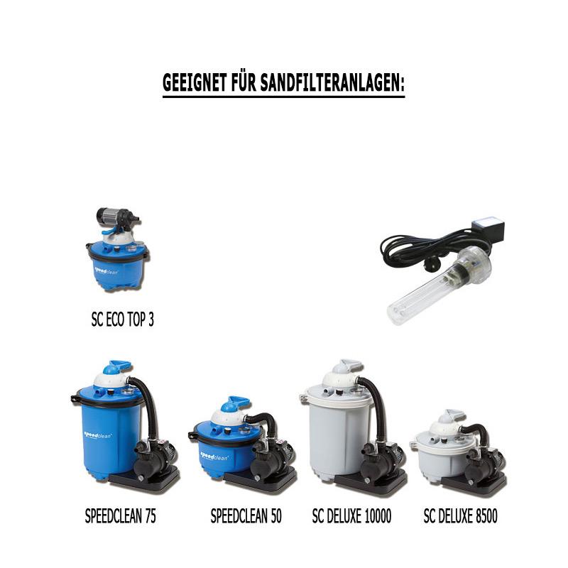 UV Lampe Speed Clean - Modul für Sandfilteranlage gegen Algen