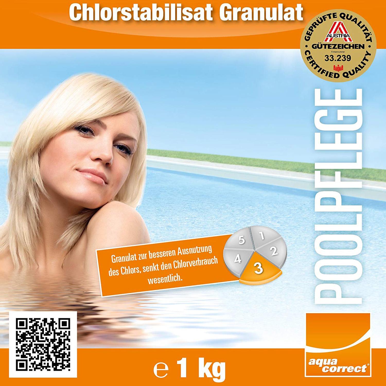 Steinbach Chlorstabilisat Granulat Chlorstabilisator chlor Stabilisator