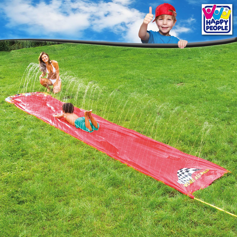 XL Wasserrutsche ca. 500 x 90 cm mit Sprinklerfunktion