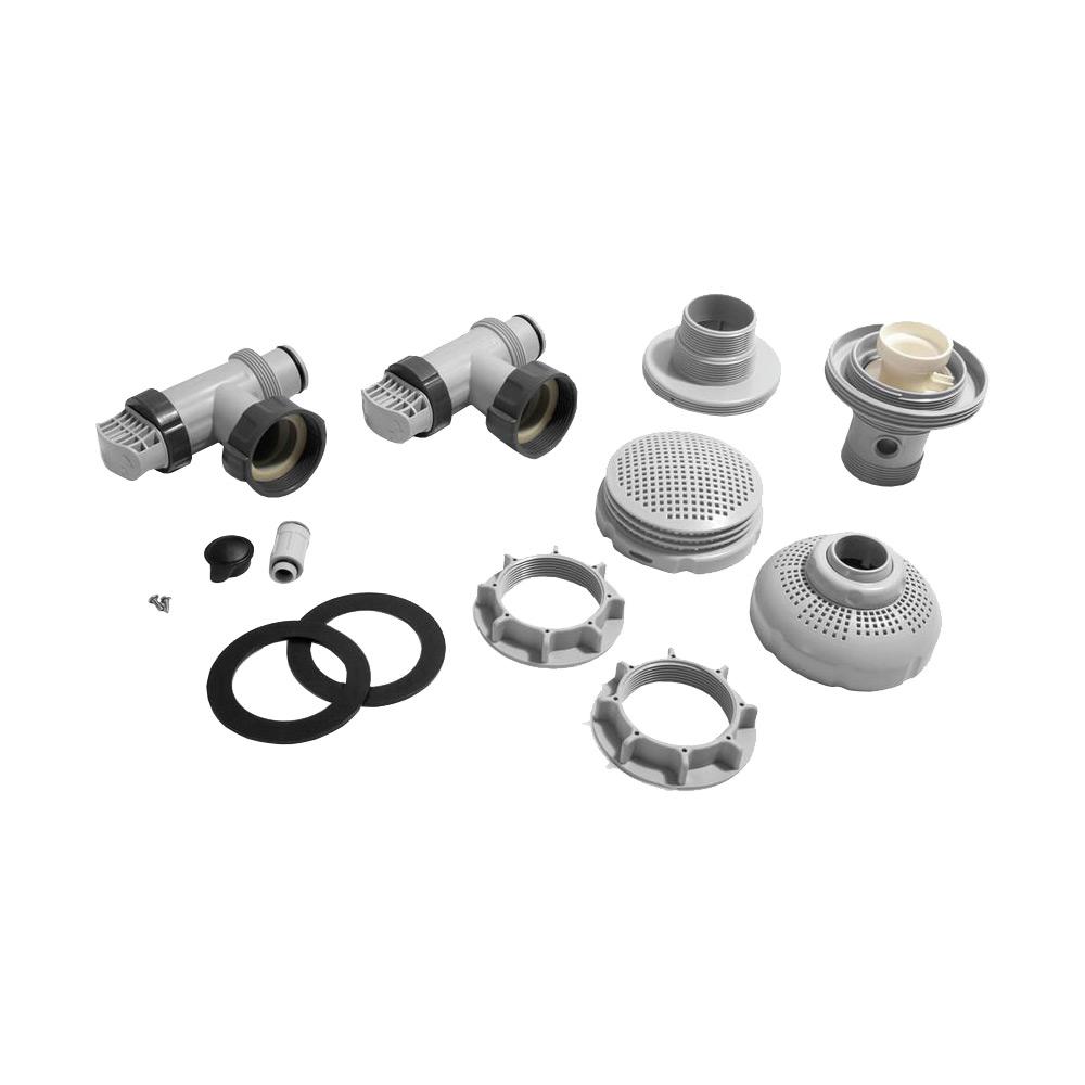 Intex Anschluss-Set Ø 38 mm für Pumpen von 7,3 bis 9,2m³/h