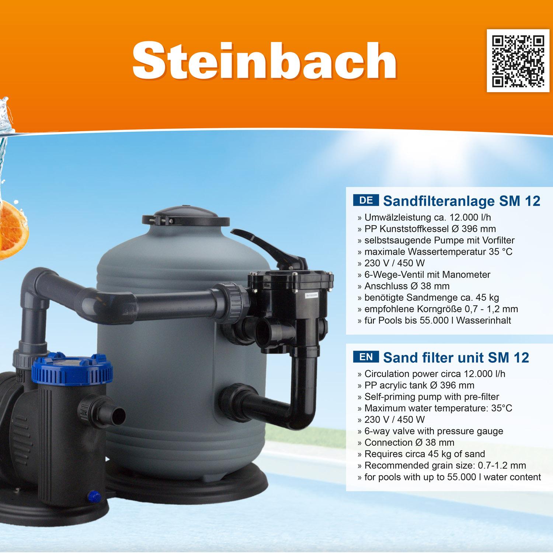 Steinbach Sandfilteranlage SM 12