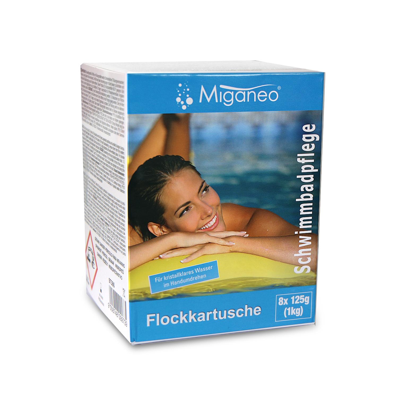 1kg Miganeo® Flockkartuschen Flockungsmittel für Sandfilteranlage