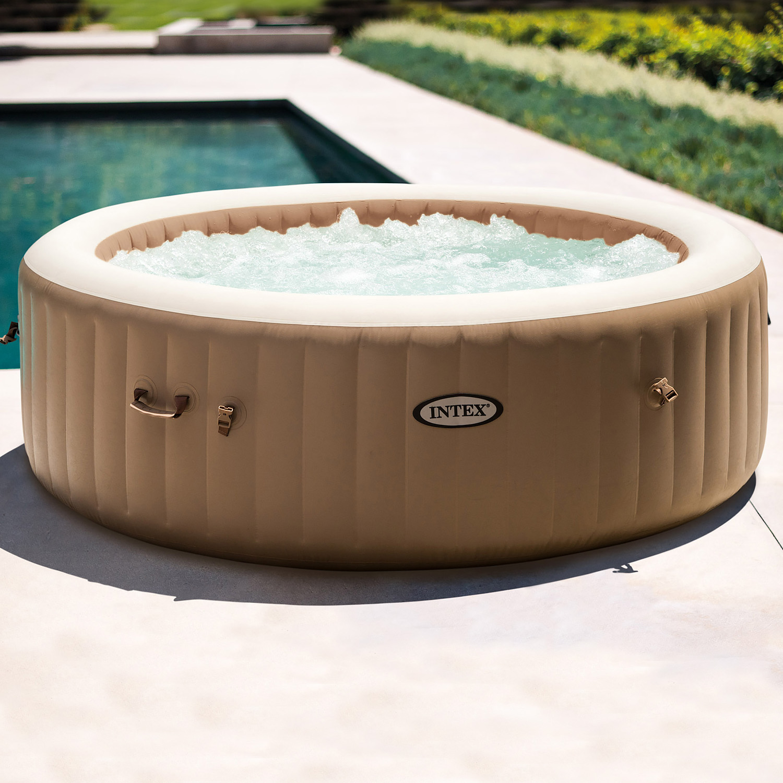 Intex Whirlpool Pure Spa Bubble Massage mit Kalkschutzsystem