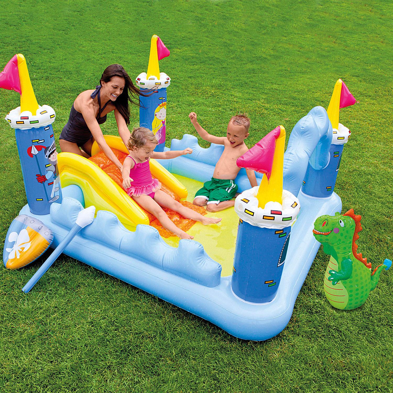 Intex Fantasy Castle Play Center Ritterburg 185x152x107cm