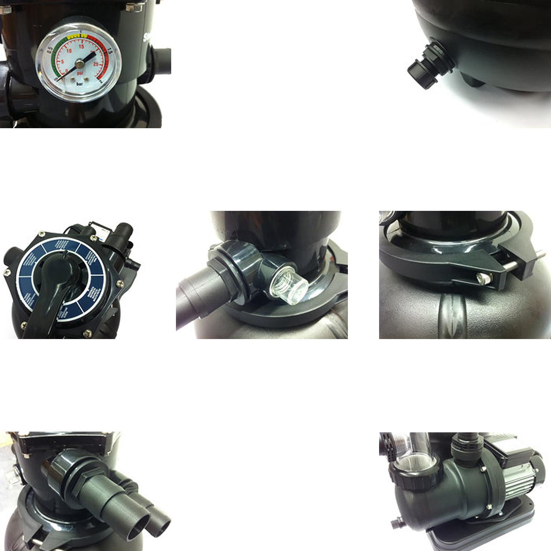 Sandfilteranlage Speed Clean Classic 310 - Pumpleistung  6,3m³