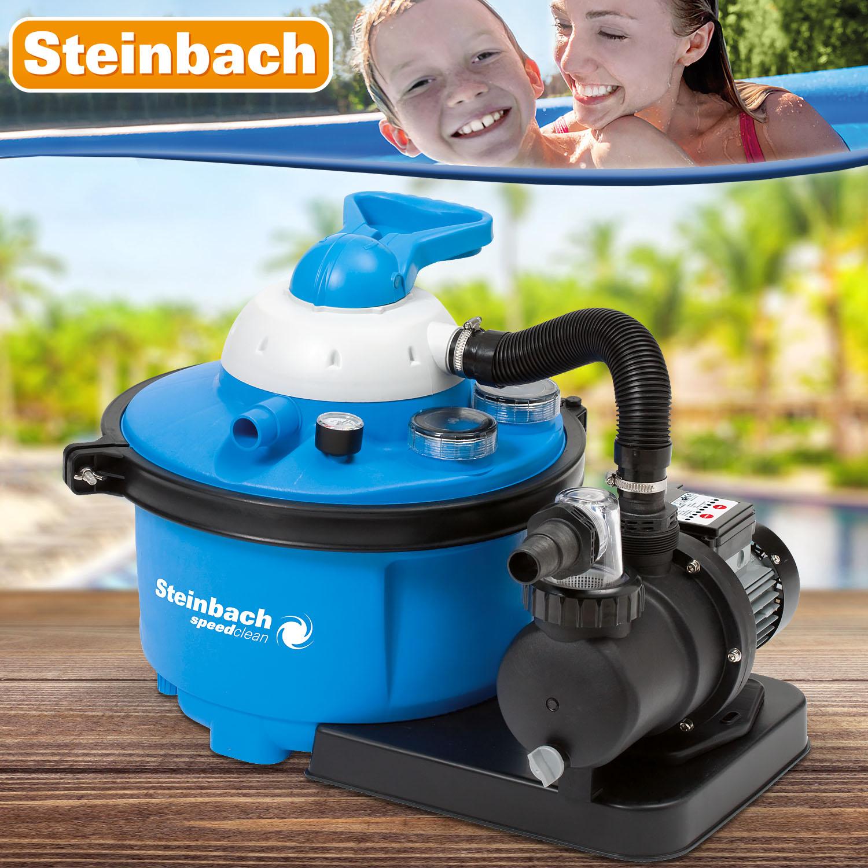 Steinbach Sandfilteranlage Speed Clean Comfort 50 - Pumpleistung 8,5m³