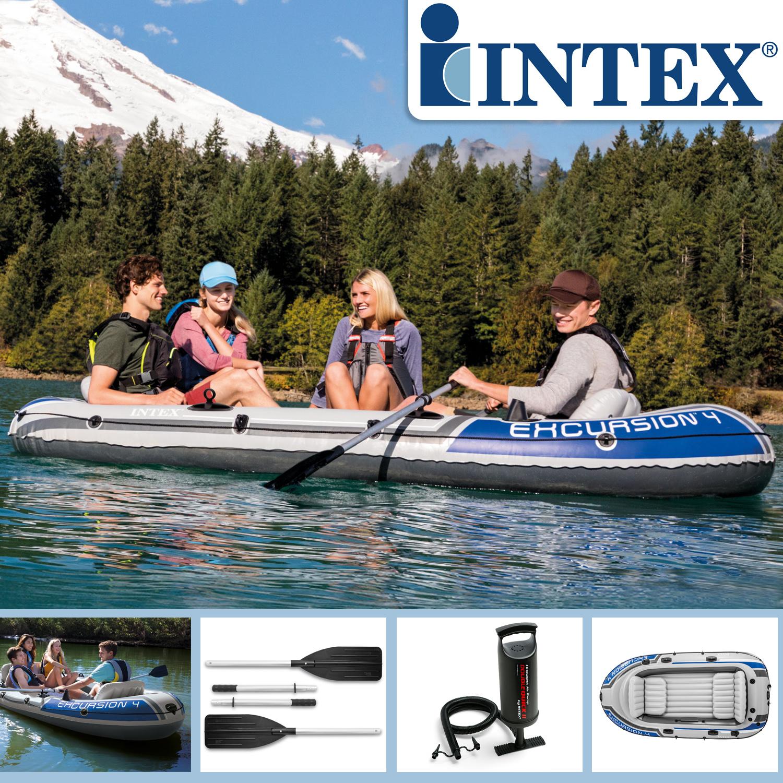 Intex Boot Excursion 4 Set 315 x 165 x 43 cm